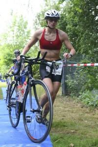 Merck Heinerman Triathlon 2008 - Wechselzone