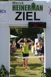 Sebastian Dehmer beim Merck Heinerman Triathlon 2008