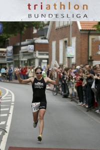Bundesliga Triathlon Greven: Siegerin Joelle Franzmann