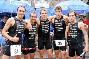 TuS Griesheim: Horst Reichel, Thomas John, Sean Donnelly, Paul Schuster, Patrick Lange